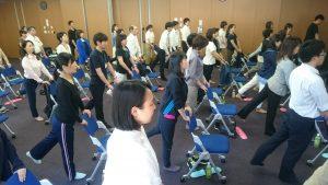 筋力トレーニングを体験